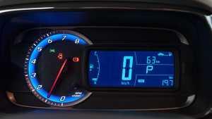 Painel do Chevrolet Tracker