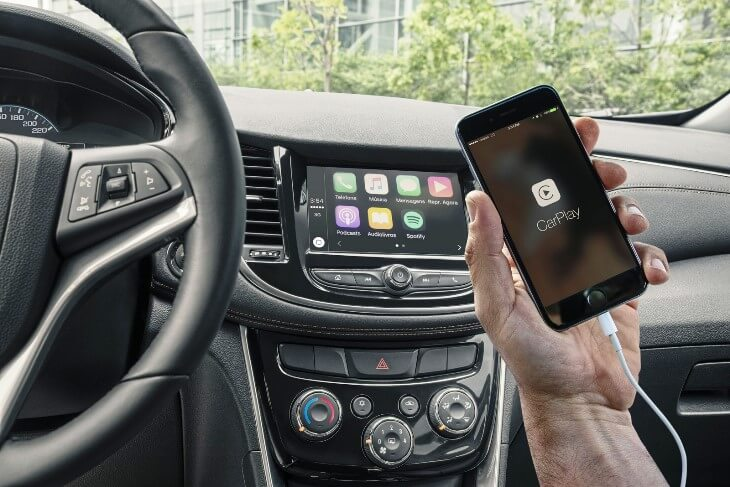 apple car play novo tracker